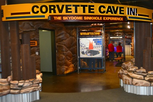 Corvette Museum Sinkhole Exhibit