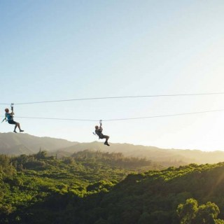 Review of ziplining on Oahu at CLIMB Works Keana Farms
