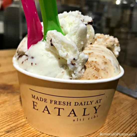 Tiramisu Gelato at Eataly Chicago