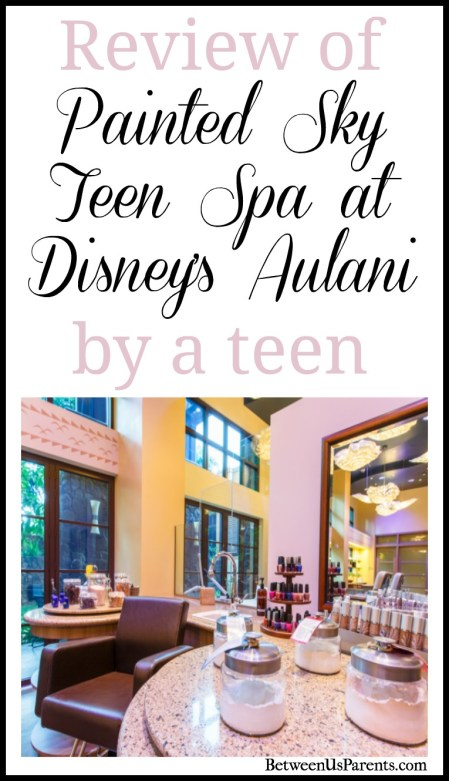 Review of Painted Sky Teen Spa at Disney's Aulani by a teen