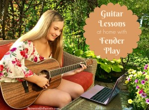 Guitar lessons at home with Fender Play