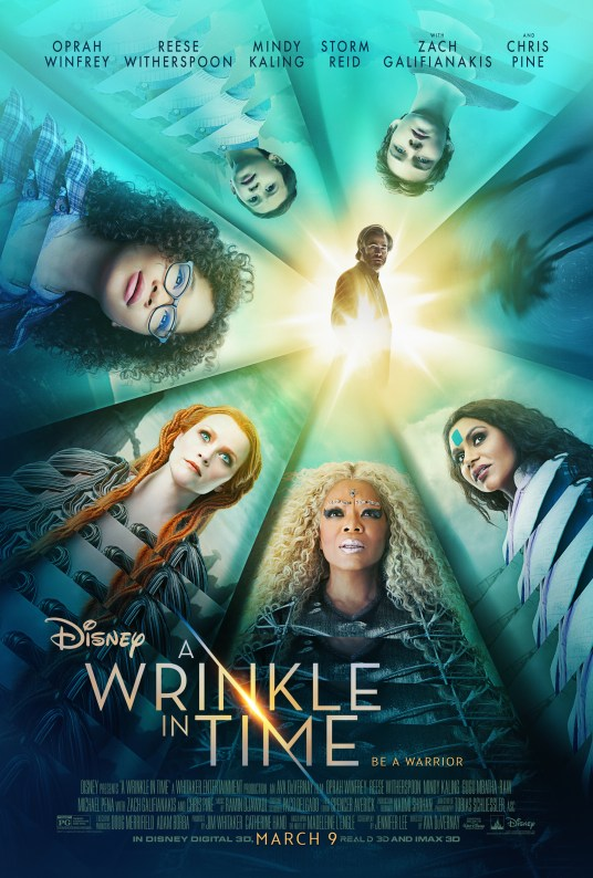 Movie post for A Wrinkle In Time