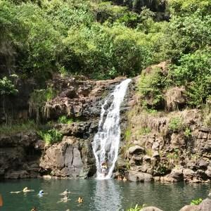 Waimea Falls on Oahu