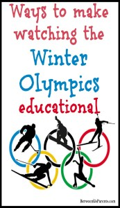 Ways to make watching the Winter Olympics educational