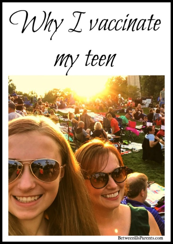 Why I vaccinate my teen