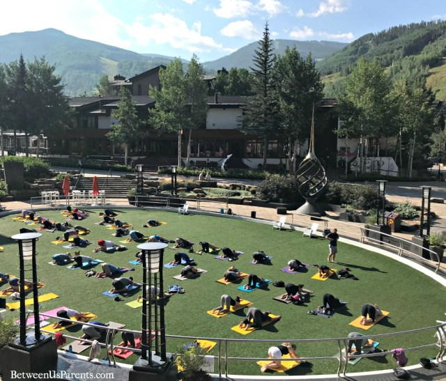 Community Yoga at Solaris in Vail