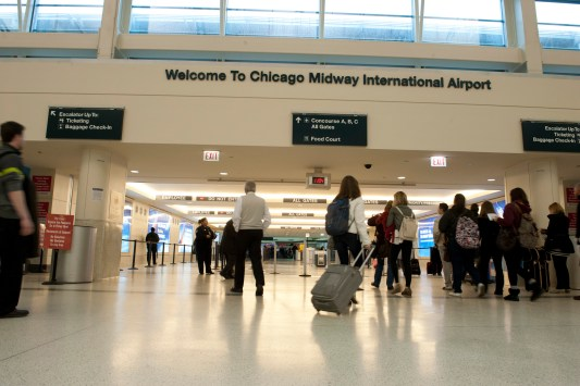 Family guide to Midway Airport in Chicago