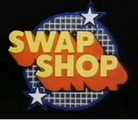Swap Shop logo, BBC