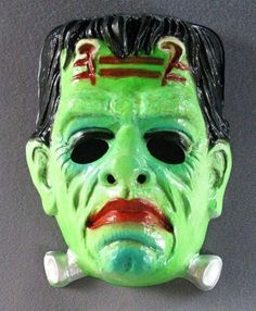 1970s frankenstein mask