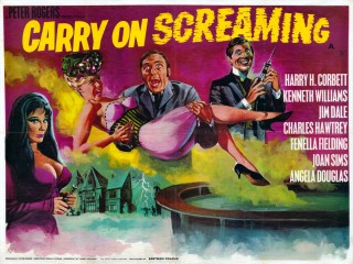 carry on screaming poster