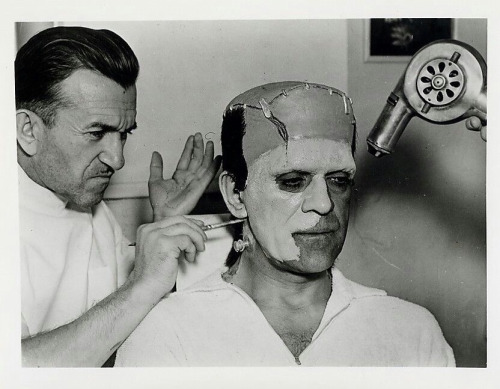 pierce karloff frankenstein