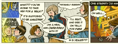 seeing star wars in 1977 comic detail 1
