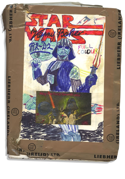 Home made Star Wars comic form 1977