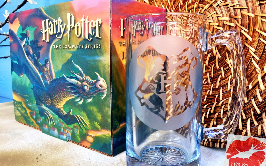 Butter Beer Float Recipe and Harry Potter Etching!
