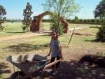 Naomi, garden helper