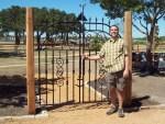 Kenny Tapp, gate designer and builder