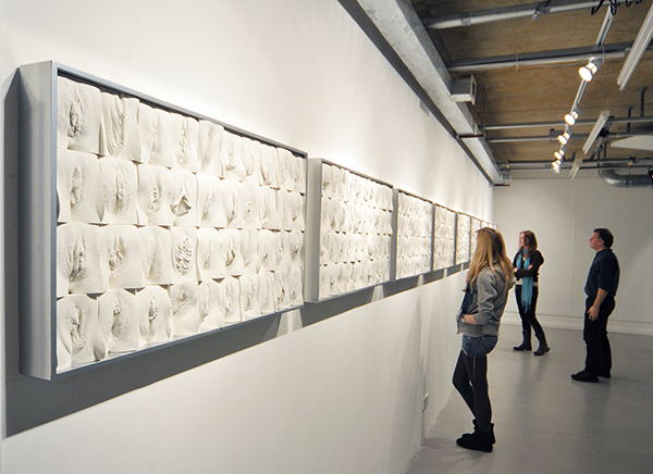 PHOTO CREDIT: JAMIE MCCARTNEY THE FIRST EXHIBITION, ARTISTS STUDIO MAY 2011
