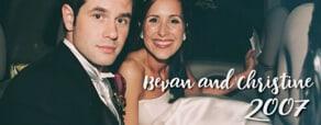 Bevan & Christine 2007