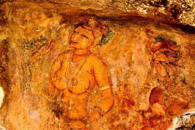 One thing you can't miss is the wall fresco's in Sigiriya Rock