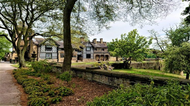 This is Shibden Hall and its grounds in Halifax
