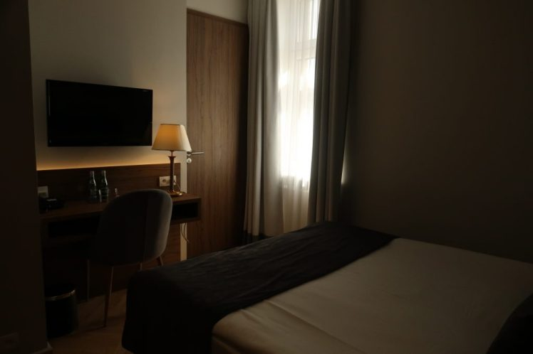 Our room at Riverview Hotel - Things to do in Warsaw
