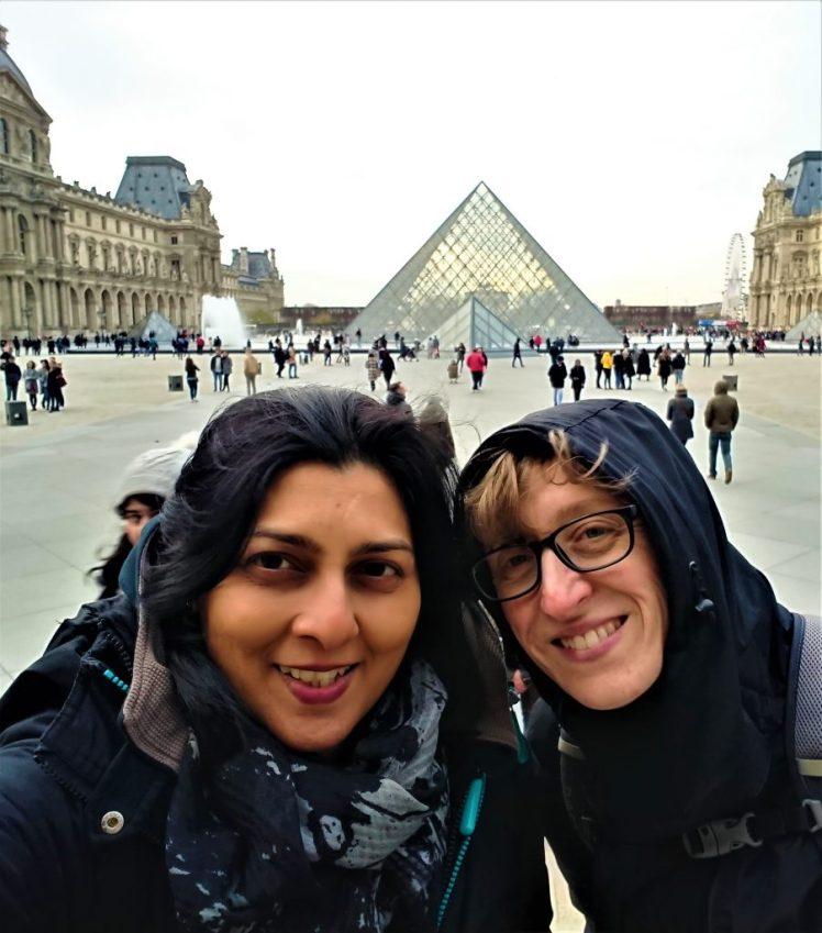 Bev & Shams Adventures in Paris
