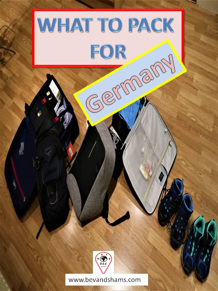 What to Pack for Germany