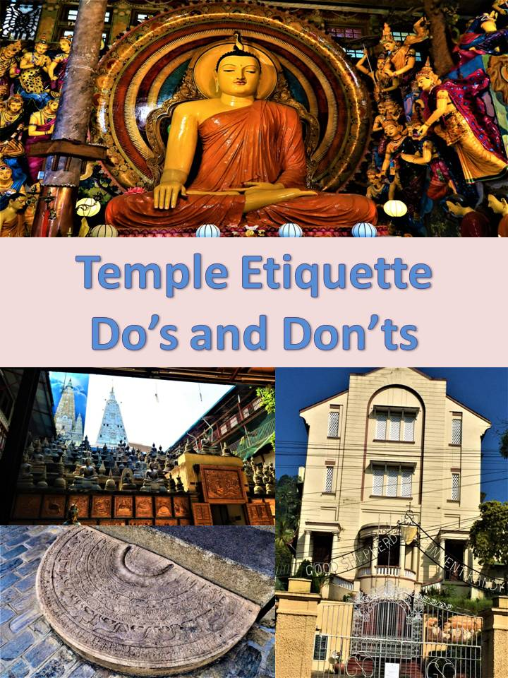 Temple etiquette do's and don'ts