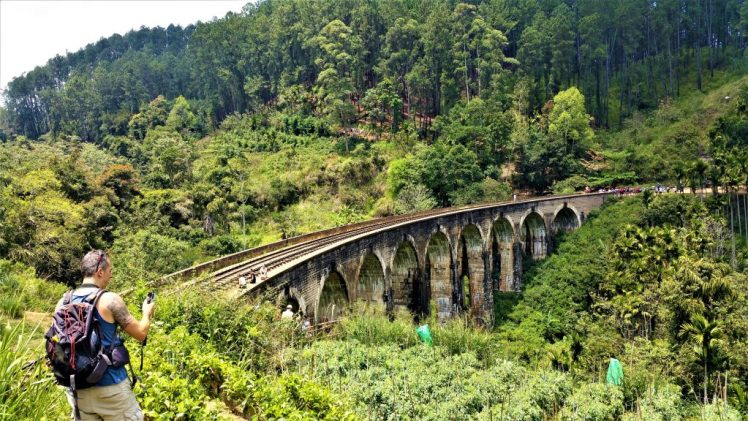 Nine Arches Bridge in Ella