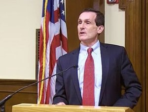 Mayor Mike Cahill gives his State of the City address on BevCam