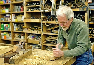 On his first show, Phil Lowe demonstrated the use of his tools of the trade
