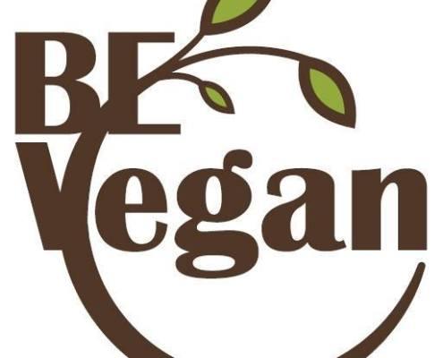 BE Vegan heeft een logo