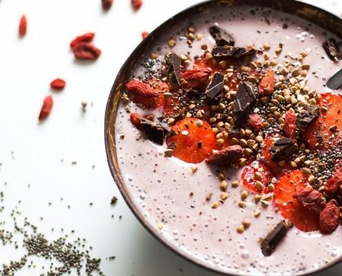 vegan ontbijt smoothiebowl