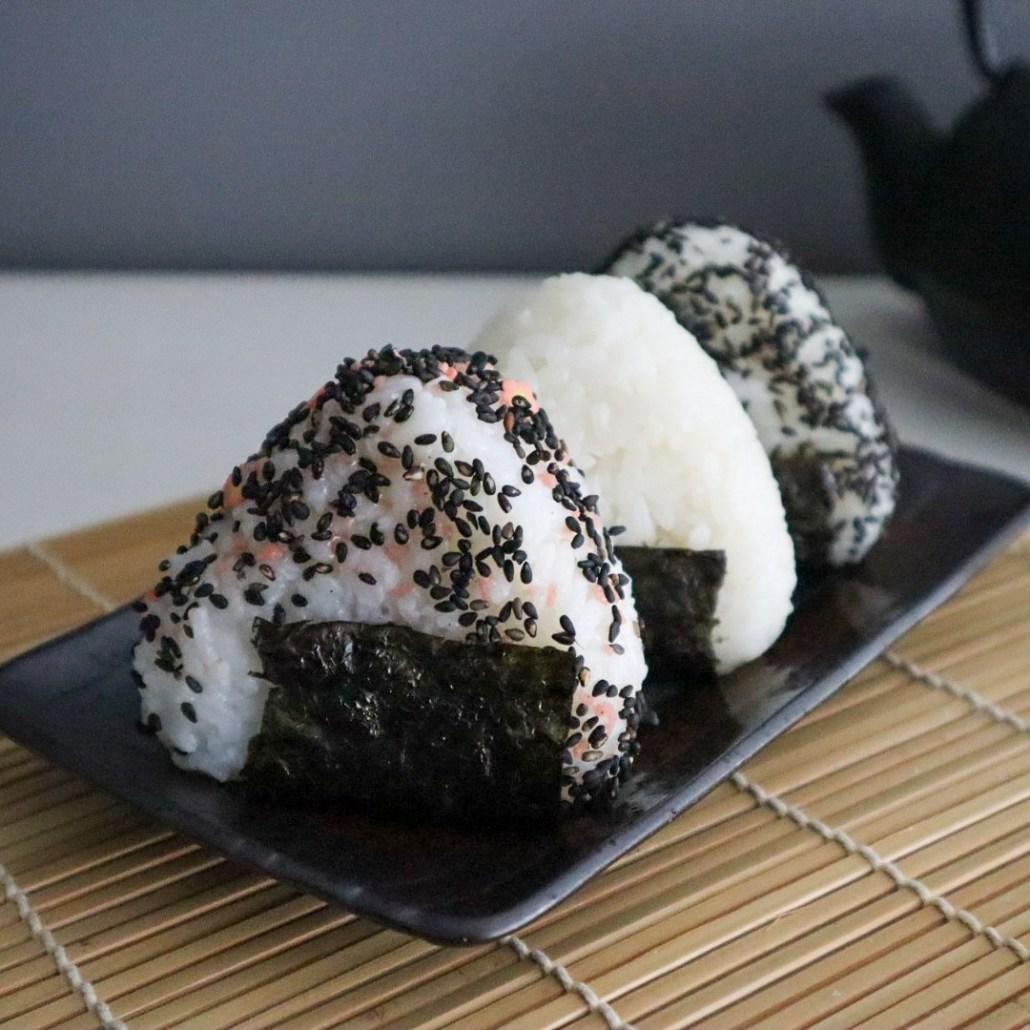 vegan recept onigiri