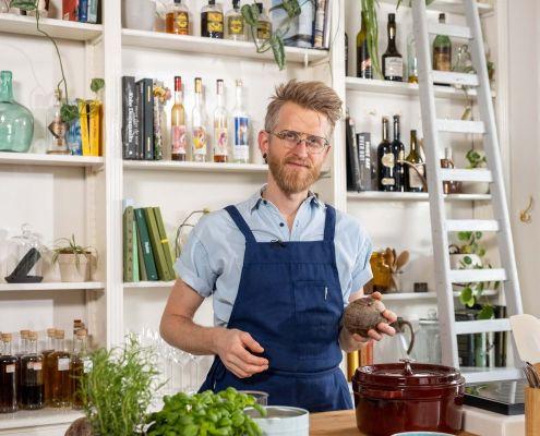 vegan kookprogramma Nicolas Decloedt