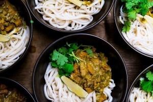 vegan recept curry 30 minuten