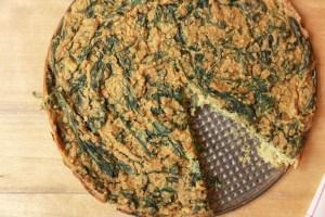 recette végétalienne frittata sans oeufs