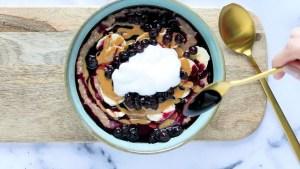 recette végane sexy porridge d'avoine