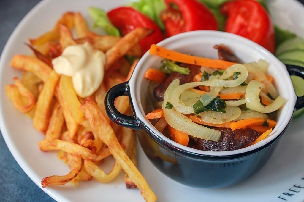 recept vegan mosselen met friet