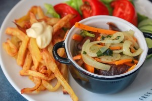 recept vegan mosselen met friet