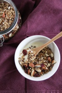 recette granola rapide