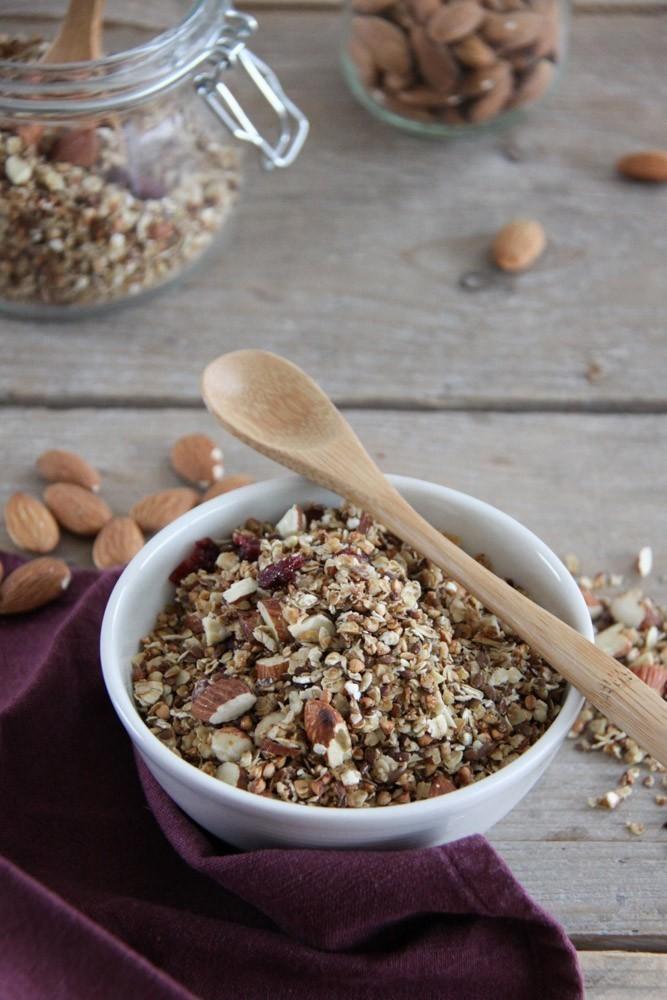 recept vegan granola uit de pan