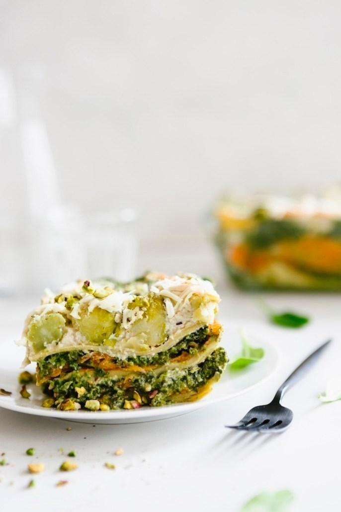 recette lasagne végane au saumon de carottes