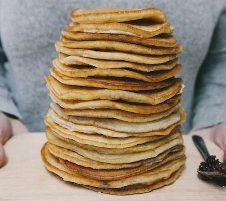 tips om veganistische pannenkoeken te maken