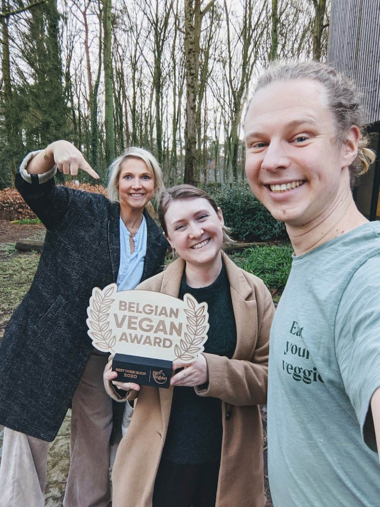 BE Vegan award best webshop 2020