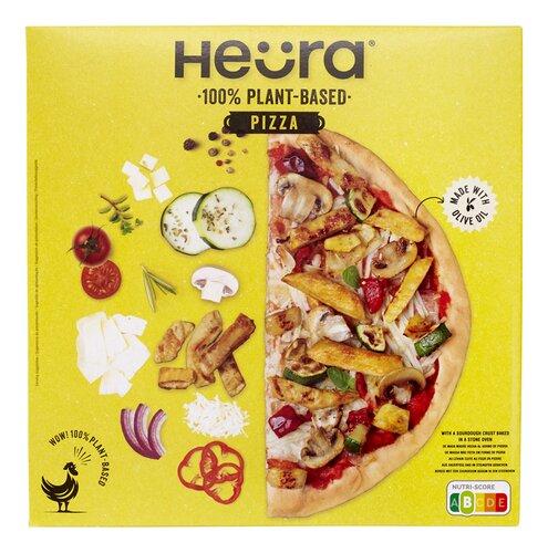 veganistische diepvriespizza