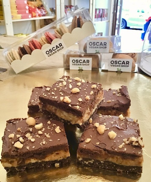 gâteaux véganes Oscar Vegan Shop Ixelles