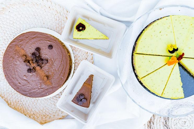 vegan taart bestellen Faim Finit Schoten
