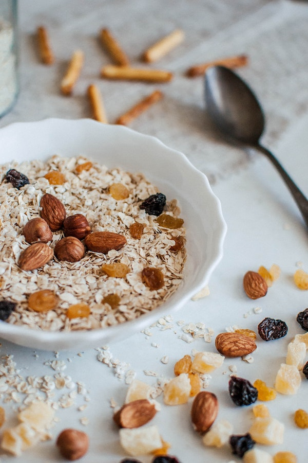 geen tekorten bij vegan dieet