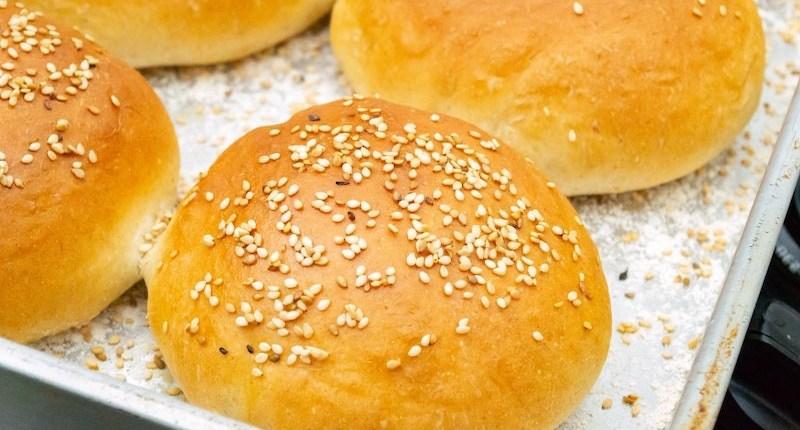 pains à hamburger véganes
